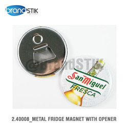 Metal Fridge Magnet with Opener