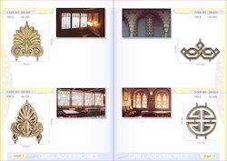 Designer Brass Cast Grills