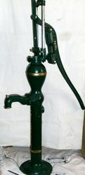Double Guide Hand Pump