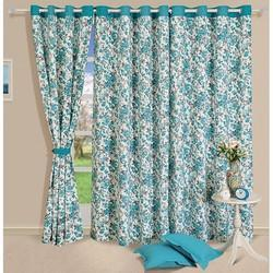 Floral Cotton Curtain