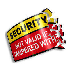 Security Stickers