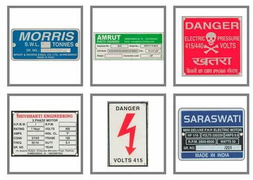 Anodized Aluminum Label