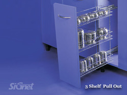 3-Shelf Pull Out