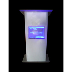 White Podium Spicer