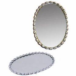 Silver Plated Aluminium Mirror