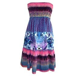 Cotton Woven Printed Dress