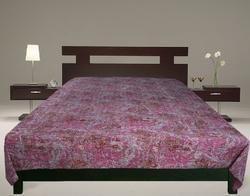 Kantha Quilt Paisley Handmade Rali Bedcovers