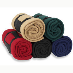 polar fleece printed blanket