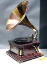 gramophone and antique wall clocks