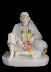 Dwarka Mai Marble Statue