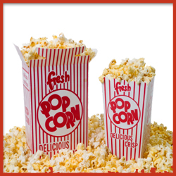 Pop Corn Packaging Containers with Printing
