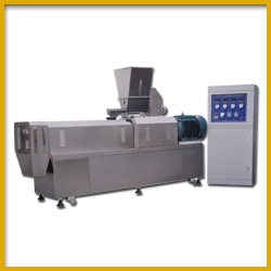 High Capacity Extruder for Puffed Snacks