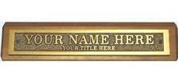 Bronze Name Plates