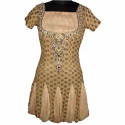 Golden+Design+Indo+Western+Dress