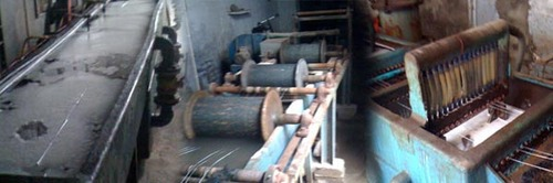 Wire Galvanizing Plant