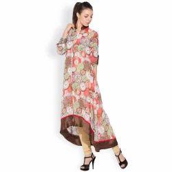 Designer Trendy Printed Tunic Long Kurti