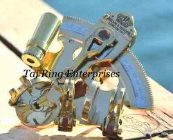 Pocket Brass Sextant