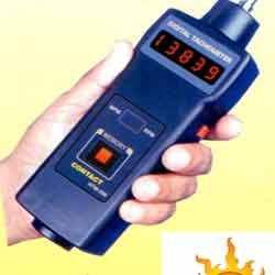 digital contact type tachometer