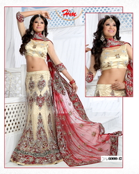 Straight Cut Bridal Lehenga