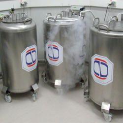 Dewar for Cryo Biological Storage