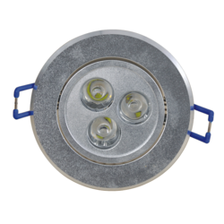 4W LED Dome - Round Recess Mounting Spot Down-light