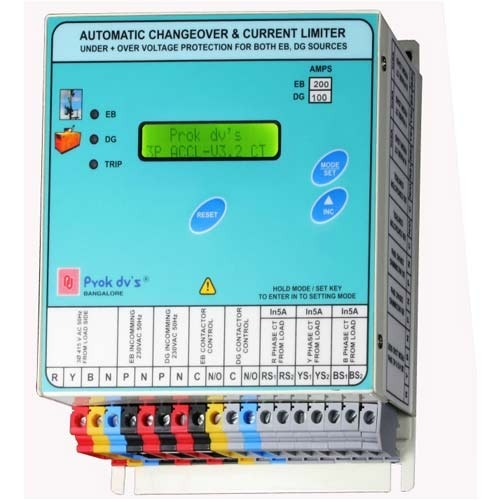 ACCL Changeover Current Limiter Automatic Changeover Current