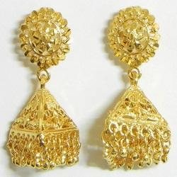ae i en kyra souq xl item gold uae yellow earrings jhumka buy earring