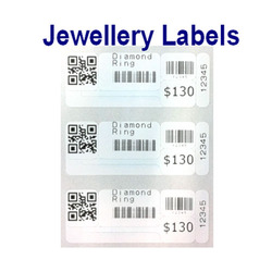 Jewellery Barcode Label