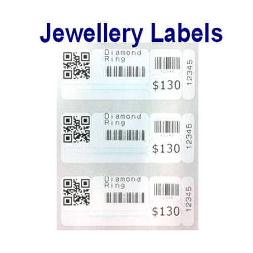 Black And White Pre Printed Barcode Labels Printing Services