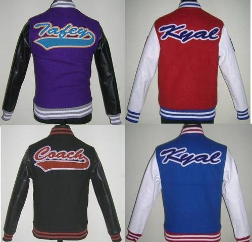 Real Leather Varsity Jacket