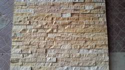 Teakwood Sandstone Split Face Wall Panels