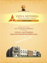 Vidya Nethrra Invitation