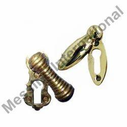 Brass Bun & Reeded Escutcheons