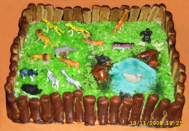 Birthday Cakes Zoo Cake Manufacturer From Goa