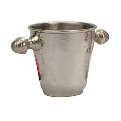 SS Hammered Elegant Ice Bucket
