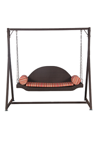 Outdoor Swings Hammocks D 04 Curved Back 2 Seater Outdoor
