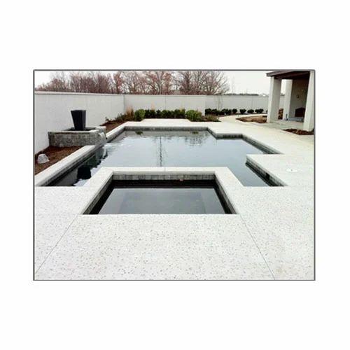 Modern Concrete Pool Deck
