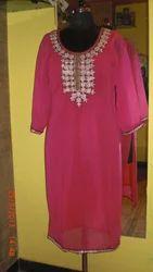 Ethnic Hot Pink Kurti