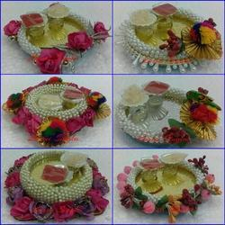 Laxmi Pooja Thali Decoration