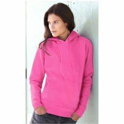 Ladies Pink Sweatshirts
