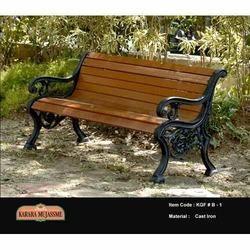 Antique Outdoor Garden Bench Set