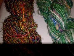 Multicolored Sari Silk Yarns for Knitters,Yarn Shops