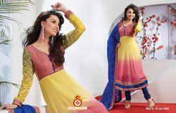 Trendy Designer Casual Anarkali Suit