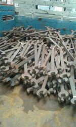 Double Open End Spanner Fish Plate Bolt