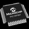 PIC Microcontroller - PIC16F887-I/PT