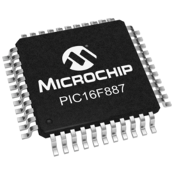 PIC Microcontroller - PIC16F887-I/PT