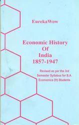 Economic History of India 1857-1947 - Books