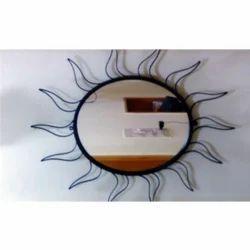 Steel Metal Powder Coated Sun Mirror