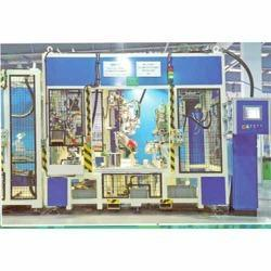 fuel tank finishing machine