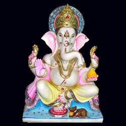Ganesh Marble Statues Ganesh White Marble Statues